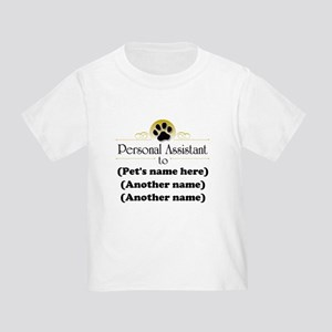 Pet Personal Assistant (Multiple Pets) Toddler T-S