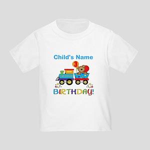 48475b309 3 Year Old. 3rd Birthday Train Toddler T-Shirt