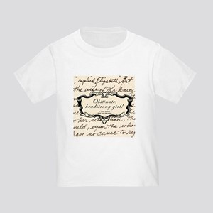 Elizabeth Bennett Toddler T-Shirt