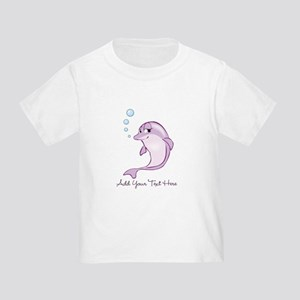 21e6a49c1e7 Purple Dolphin Toddler T-Shirts - CafePress