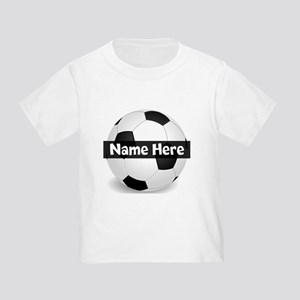 Personalized Soccer Ball Toddler T-Shirt