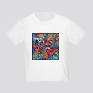 Jazz Musicians Blues Band Toddler T-Shirt