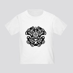 Frog Native American Design Toddler T-Shirt