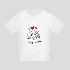 121ed6535 Funny Stick Figure Toddler T-Shirts - CafePress