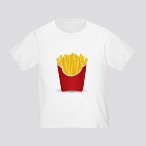 4312c876f French Fries Toddler T-Shirts - CafePress