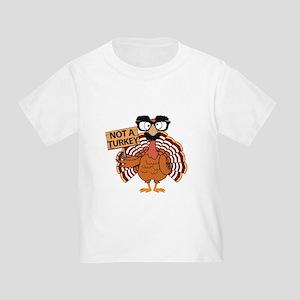 1a853ea8 Funny Thanksgiving Turkey - Not a Turkey T-Shirt