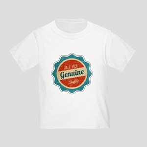 9afd35cf1 Retro Genuine Quality Since 1968 Toddler T-Shirt