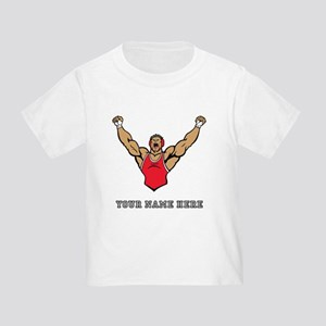 Custom Strong Wrestler T-Shirt