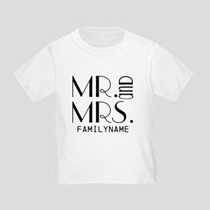 Personalized Mr. Mrs. Toddler T-Shirt