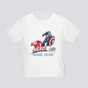 Avengers Assemble Captain America Toddler T-Shirt