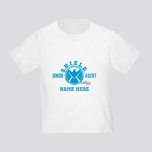Blue Personalized Junior SHIELD Ag Toddler T-Shirt