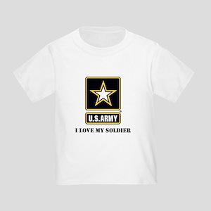 ab8b86a90be4a4 Half My Heart Is In Iraq Toddler T-Shirts - CafePress