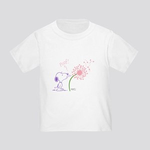Snoopy Dandelion Toddler T-Shirt