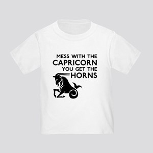Capricorn Horns Toddler T-Shirt