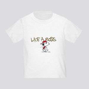 Peanuts Snoopy Like A Boss Toddler T-Shirt