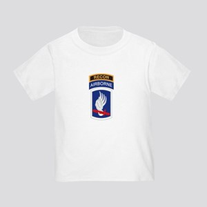 173rd ABN with Recon Tab Toddler T-Shirt