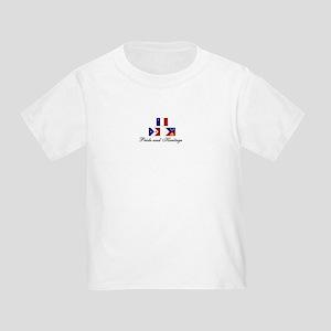 Acadian/Cajun Toddler T-Shirt (PH)
