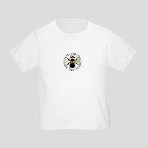 Save The Bee... Toddler T-Shirt