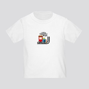 Add Name and Age Little Engineer Toddler T-Shirt