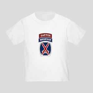 10th Mountain Sapper Toddler T-Shirt