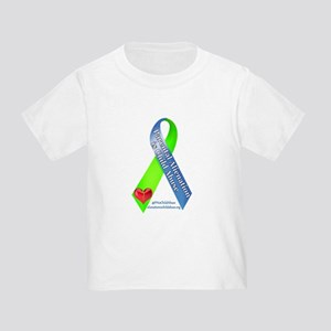Parental Alienation Awareness Ribbon -White T-Shir