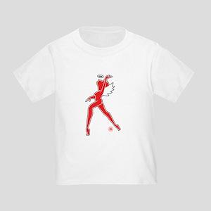 Hells Angels Nose Art Toddler T-Shirt