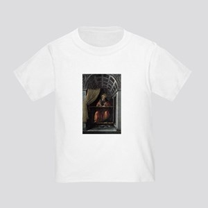 St. Augustine in His Cell - Botticelli Toddler T-S