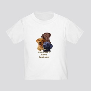 Three Labs Toddler T-Shirt