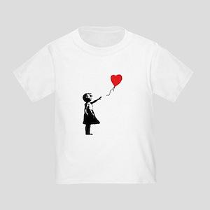 Banksy - Little Girl with Ballon T-Shirt