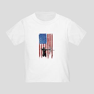 USA Flag Team Archery Infant/Toddler T-Shirt