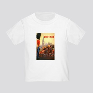 Vintage Travel Poster, Britain Toddler T-Shirt