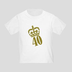 40th Birthday Toddler T-Shirt