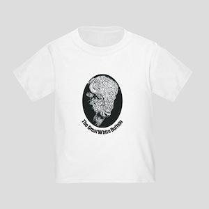 Great White Buffalo Toddler T-Shirt