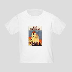 Mission Santa Barbara Toddler T-Shirt