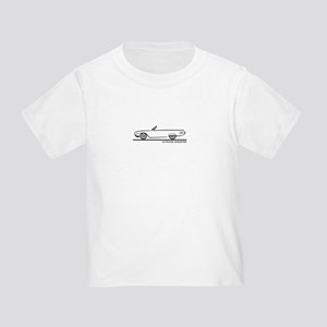 1961 Ford Thunderbird Convertible Toddler T-Shirt