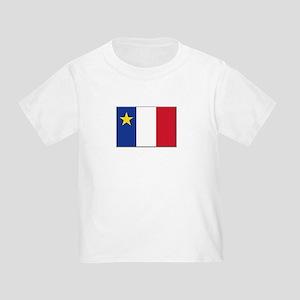 Flag of Acadia Toddler T-Shirt