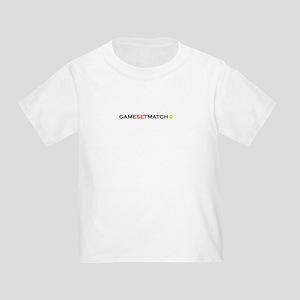 GAMESETMATCH Toddler T-Shirt