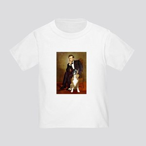 Lincoln & his Boxer Toddler T-Shirt