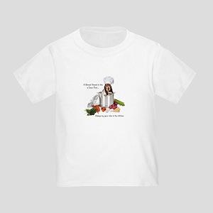 Basset Chef Toddler T-Shirt