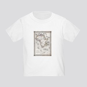 Vintage Map of Africa (1852) T-Shirt