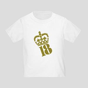 18th Birthday Toddler T-Shirt
