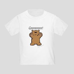Grrrrrrrr! (Bear) Toddler T-Shirt