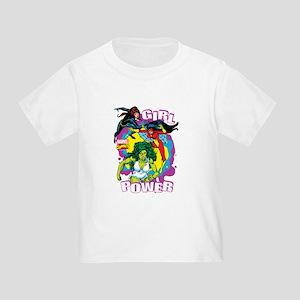 Marvel Comics Girl Power Toddler T-Shirt