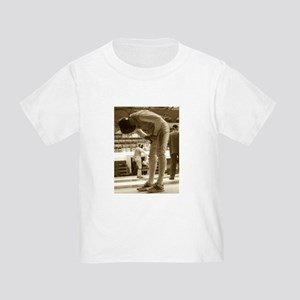 Sepia Fencing Toddler T-Shirt