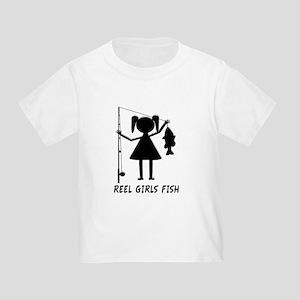 Reel Girls Fish Toddler T-Shirt