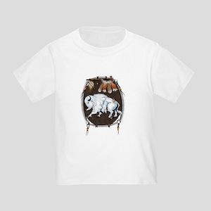 White Buffalo Shield Toddler T-Shirt