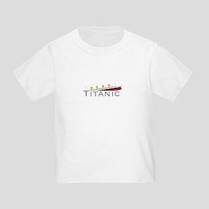 Sinking Titanic Toddler T-Shirt