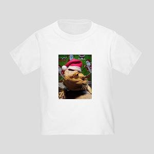 Beardie Santa Hat T-Shirt