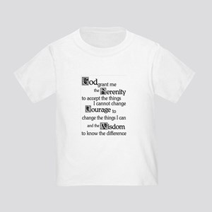 SERENITY PRAYER Toddler T-Shirt