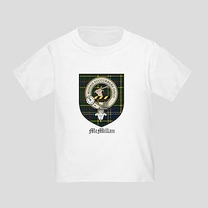 McMillan Clan Crest Tartan Toddler T-Shirt
